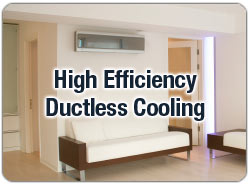 Enjoy ductless cooling